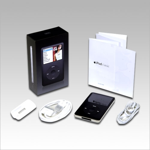 Apple iPod Classic 80gb Black Fifth Generation - Technical Specification