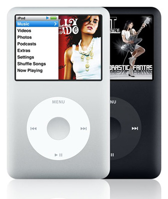 ipod classic black. Apple iPod Classic 160GB 6th