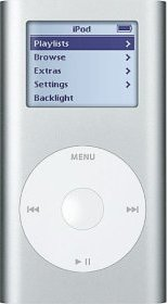 Apple iPod Mini MP3 Player Silver