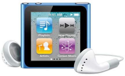 Apple iPod Nano Sixth Generation